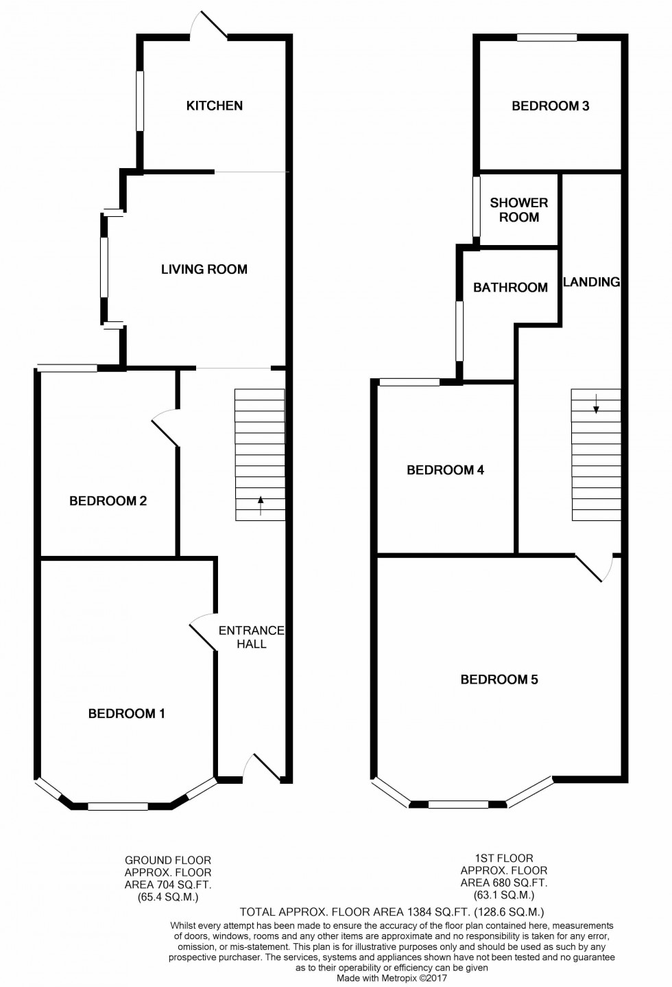 Floorplan for *NO STUDENT FEES 2019* Orchard Road, Southsea